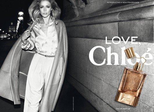 Raquel Zimmerman pour Love de Chloé