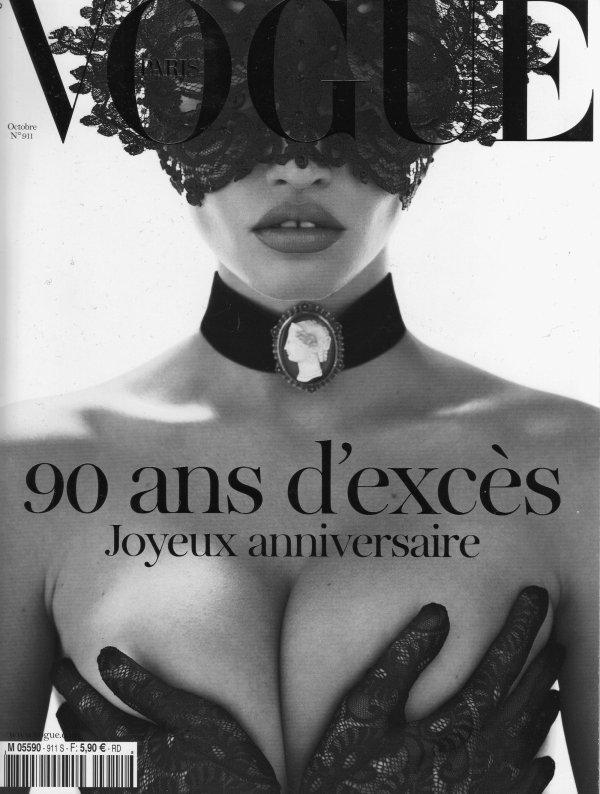 Lara Stone pour Vogue Paris, octobre 2010