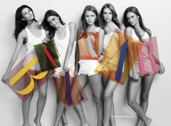 Juliana Forge, Meg Lindsay, Stephanie Cherry, Georgia Fowler & Bambi Northwood-Blyth pour Harper's Bazaar Australie
