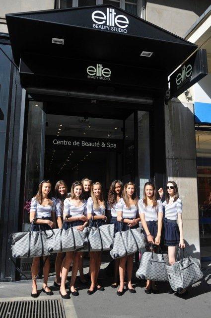ELITE MODEL LOOK FRANCE 2010 : Bus Tour Elite à Paris