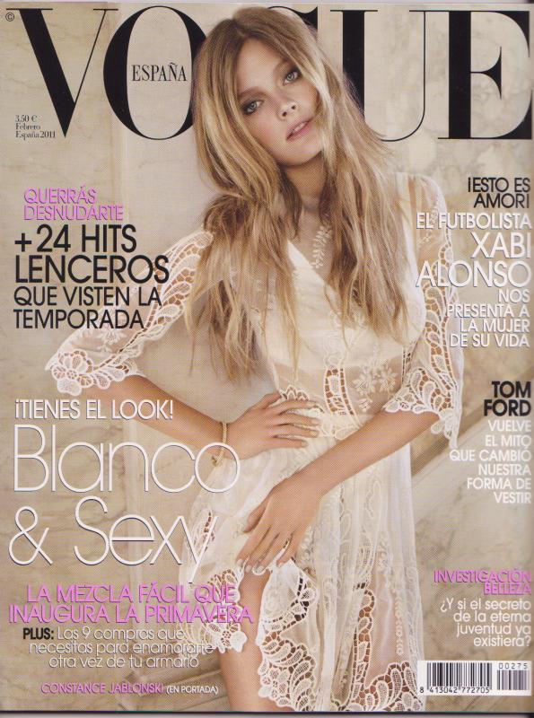 Couvertures Vogue de février 2011