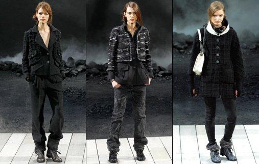 Chanel Volcanic Fashion Show