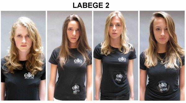 Candidates sélectionnées pour la demi-finale Elite Model Look 2011