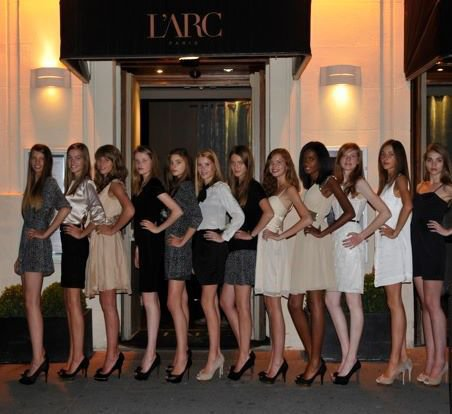 Journée beauté, shopping & dîner pour les 12 finalistes Elite Model Look France 2011