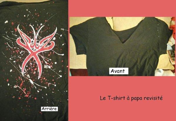 Le T-shirt à papa, revu par Souz