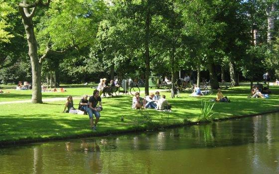 mon premier  RDV sur Le Vondelpark