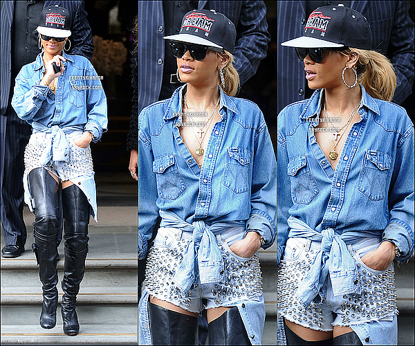 . 29.02.12 : Rihanna a été aperçut quittant son hôtel à Londres avec une tenue très légère. Top ou flop ?.