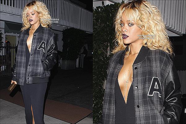 . 12/02/12 : Robyn Rihanna Fenty est allée manger au Giorgio Baldi puis au club Greystone, Los Angeles..