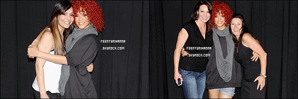 . 21/06/11 : Rihanna en concert à Calgary au Canada puis le lendemain à Edmonton toujours au Canada..