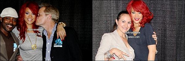 . 29/06/11 : Rihanna performe à Anaheim puis le 30/06 arrivant à Oakland et posant avec des fans..