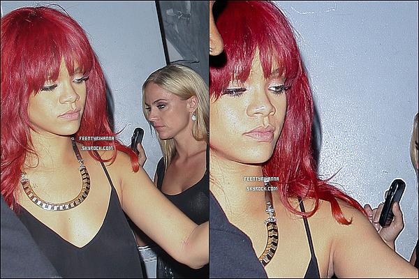 . 14/07/11 : Rihanna a performer à Sunrise où elle mis le feu ! Rihanna est ensuite allée au club Mansion..