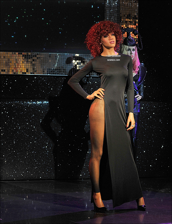 . La statue de cire de Rihanna chez Madame Tussauds de Londres a été inauguré ! Qu'en penses-tu ?.