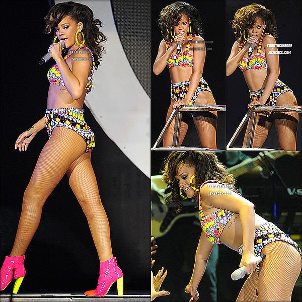 . 06/10/11 : Rihanna a performée hier à Londres puis est allée au club Mahiki avec Dudley O'Shaugnessy..