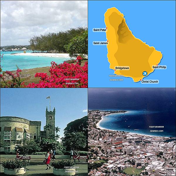 . TOUT CONNAITRE DE LA BARBADE ! .  La Barbade est une île relativement plate, se relevant doucement dans la région centrale montagneuse, le point le plus élevé est le mont Hillaby à 336 mètres. L'île est située sur une position légèrement excentrée dans l'océan Atlantique comparé aux autres îles des Caraïbes. A la Barbade, le climat est tropical, avec une saison des pluies à partir de juin jusqu'à octobre. La capitale de la Barbade est Bridgetown. D'autres villes à signaler sont Holetown et Speightstown. Elle constitue une particularité géologique, étant donné qu'il s'agit d'un prisme d'accrétion issu de la subduction de la plaque atlantique sous la plaque caraïbe. L'aspect exceptionnel est qu'il soit suffisamment élevé pour émerger. La Barbade est divisée en onze paroisses. Ces onze paroisses sont : Christ-Church, Saint-Andrew, Saint-George, Saint-James, Saint-John, Saint-Joseph, Saint-Lucy, Saint-Michael, Saint-Peter, Saint-Philip et Saint-Thomas. . En savoir plus ? .