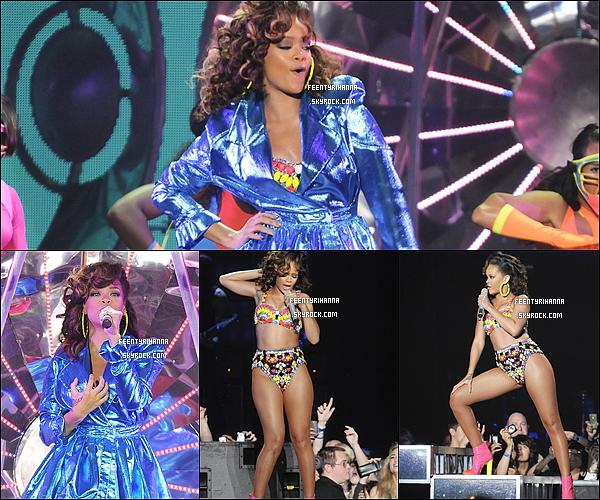 . 09/10/11 : Rihanna est revenue en Europe pour continuer sa tournée, et a fait le show à Manchester..