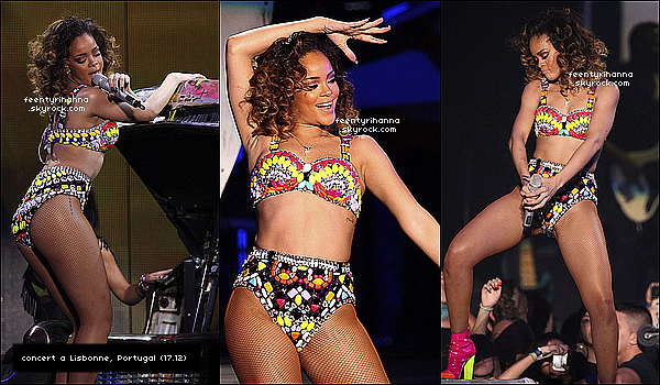 . 15/12/11 : Rihanna a donné un second concert du « Loud Tour » organisé dans la capitale espagnole..