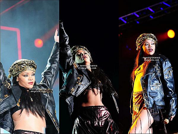 . 30/06/12 : Rihanna est arrivée aujourd'hui en Suède où elle montera sur scène le soir même. + Robyn à performée au festival « Peace And Love » avec le même tracklist que celui de hier soir. Comment trouves-tu Rihanna Fenty ? .