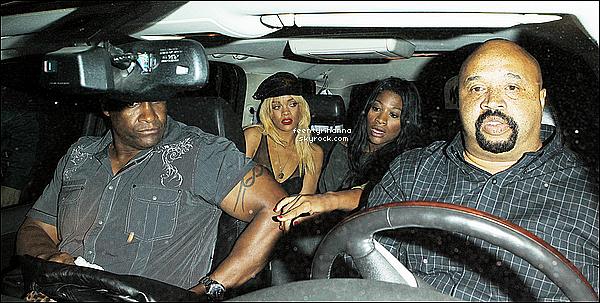 . 05/02/12 : Rihanna Fenty est allée au célèbre club Greystone à Los Angeles où se trouvait Chris Brown...
