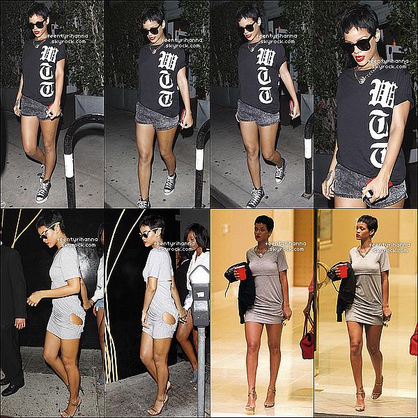 . 15/09/12 : Notre belle Robyn est allée encore une fois au Giorgio Baldi, Los Angeles.  + Plus tard dans la soirée, Robyn Rihanna Fenty est allée danser au club Eden à Los Angeles avec sa meilleure amie, Mélissa Forde. .