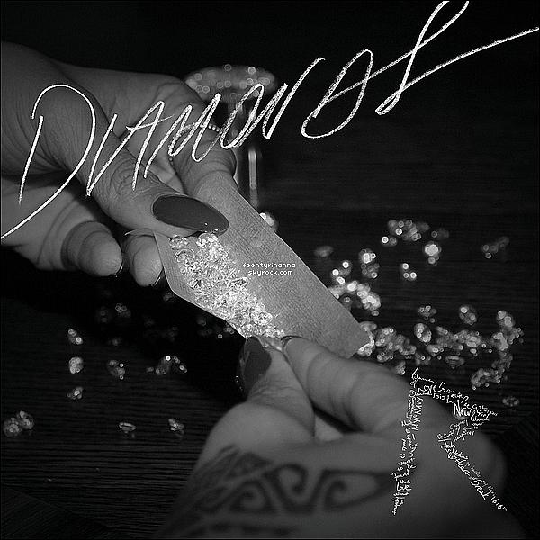 . Rihanna Fenty a dévoilée la pochette de son prochain single, Diamonds (In The Sky). Suivez le live coverage de Rihanna-Diva pour écouter en avant-première le single Diamonds, ainsi que de découvrir les paroles.  Voir? .