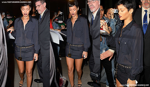 . 02/10/12 : Rihanna se rendant dans des studios d'enregistrement à New York. Gros top!   + 03 Octobre - Rihanna aperçut quittant son hôtel à New York pour se rendre à l'aéroport, puisqu'elle donnera un concert à Baku.  .