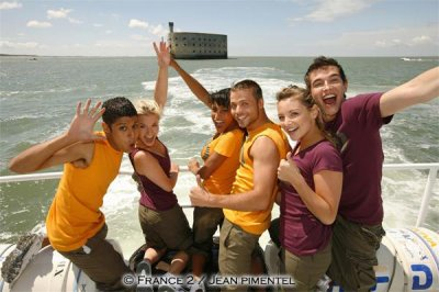 j adore cette photo priscilla a fort boyard