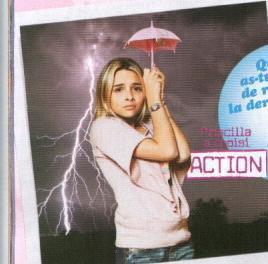 prissou avec son parapluie