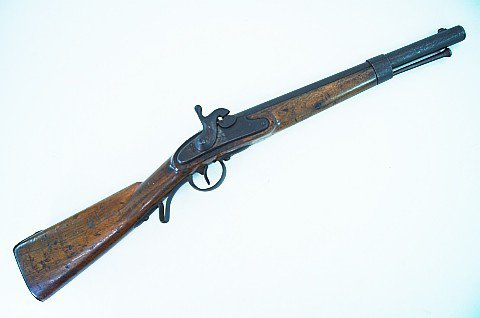 US Civil War Austrian 1842 Cavalry Carbine Musket