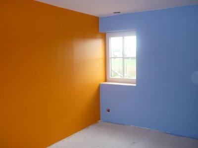 Emejing chambre orange et bleu gallery yourmentor info