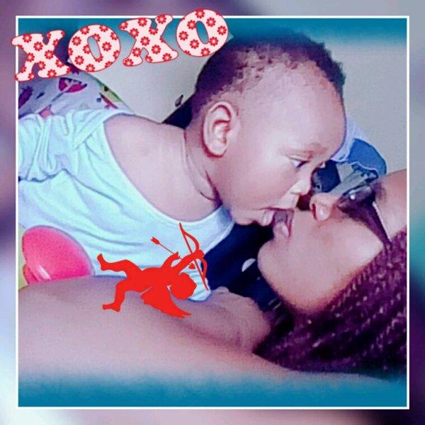 L'amour de ma vie, ma joie de vivre, mon fils adoré, je t'aime.???