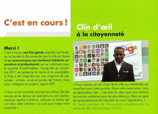 LE HAVRE CLIN D'¼IL A LA CITOYENNETÉ