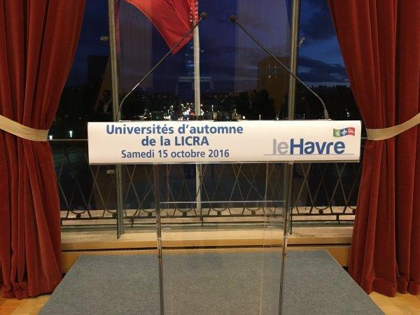 Universités d'automne de la LICRA au Havre