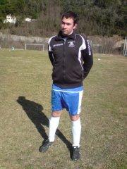 un joueur de foot