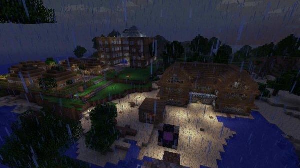 Mon village Vue de Haut