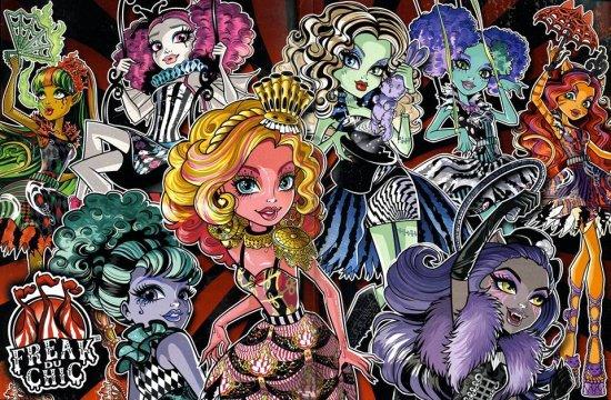 Image du jour : Monster High - Freak du Chic