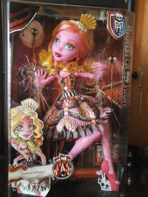 Nouvelle Monster High : Gooliope Jellington - Freak du Chic