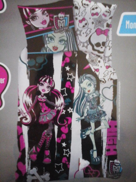 La parure de lit Monster High