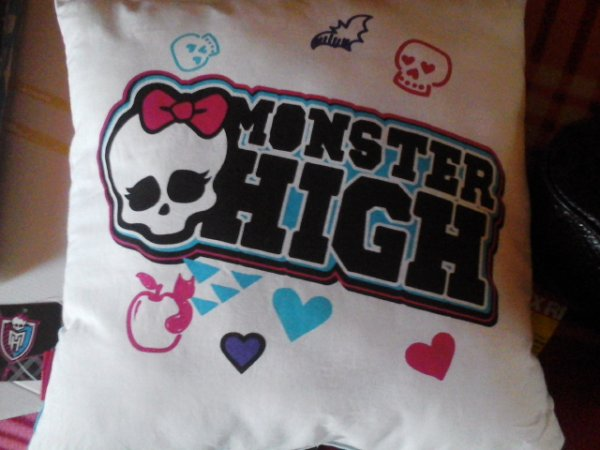 Le coussin Monster High
