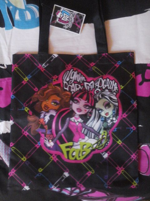 Sac en toile Monster High