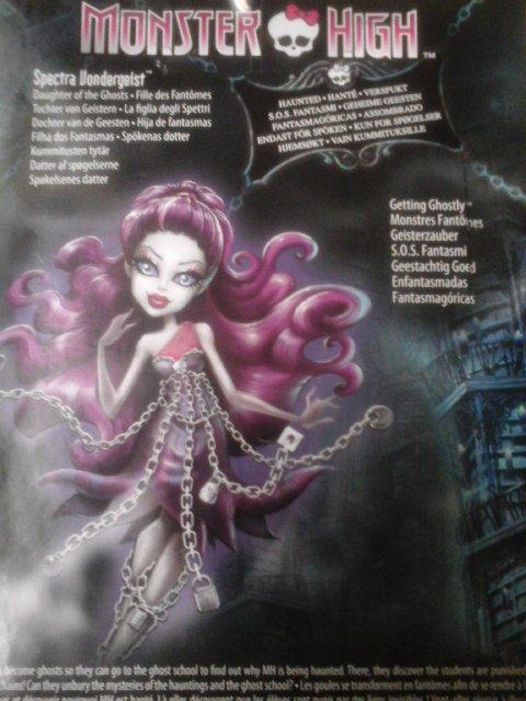 Nouvelle Monster High : Spectra Vondergeist - Haunted