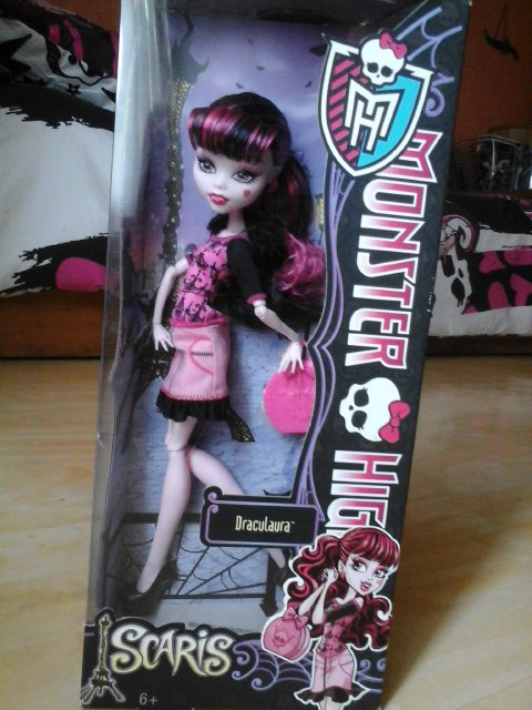 Nouvelle Monster High : Draculaura - Scaris