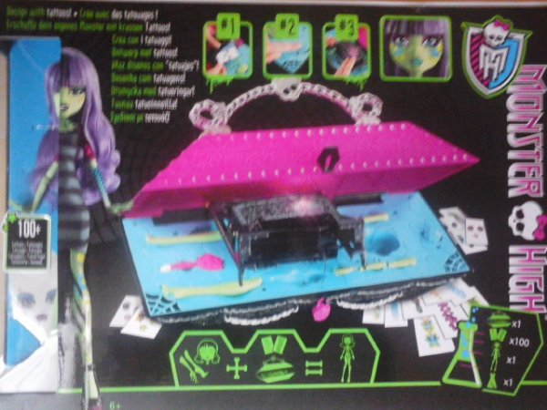 Le laboratoire Monster High