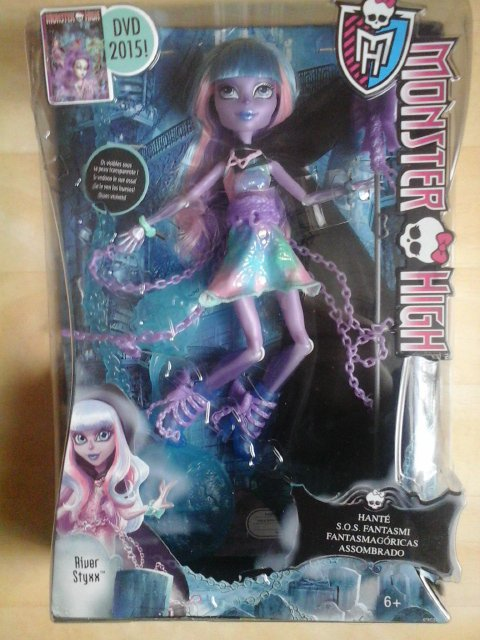 Nouvelle Monster High : River Styxx - Haunted