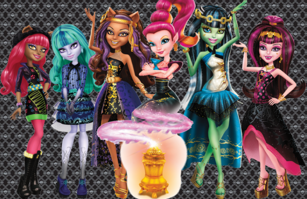 Image du jour : Monster High - 13 wishes