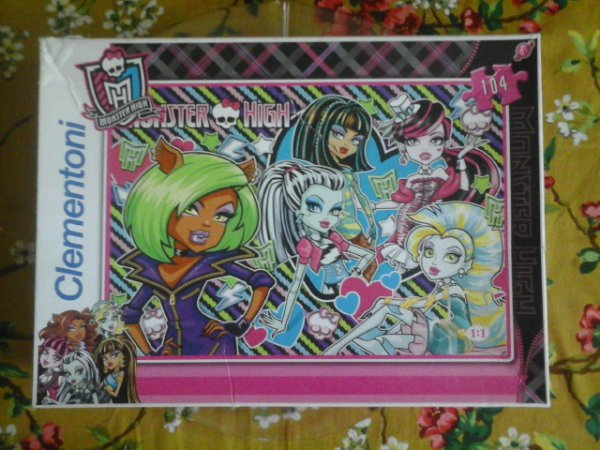 Puzzle Monster High - Dawn of the Dance