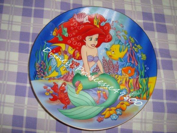 Assiette La Petite Sirène