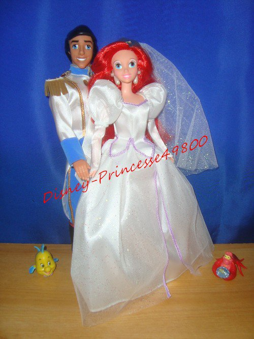 The Little Mermaid Wedding Party Gift Set 1997 (La Petite Sirène)