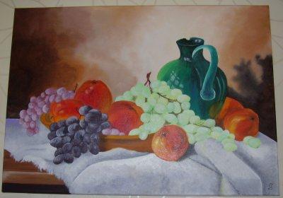 Ses toiles ont été exposé le week-end de pentecôte 2010.