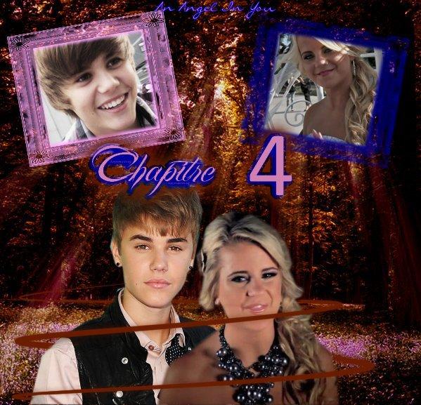 """Chapter Four ♥             ♥  """"Putain de sa maman l'escargot Justin tu m'a fait peur !..."""" ♥"""