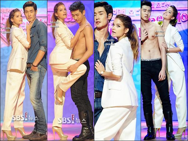 -   28/08/13 Barbara était l'invitée à l'émission coréenne I'm Supermodel diffusée sur la chaîne E!   -